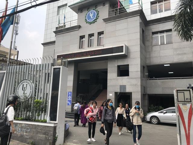Trường ĐH Luật TPHCM dừng tổ chức kiểm tra đánh giá năng lực - 1