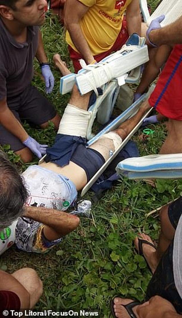 Brazil: Sống sót thần kỳ sau khi rơi tự do từ dù lượn - 3