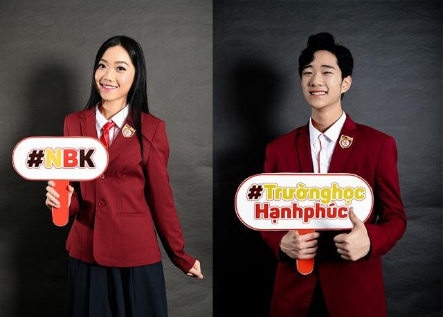 Lộ diện Nam vương và Hoa khôi học sinh trường THPT Nguyễn Bỉnh Khiêm - 2