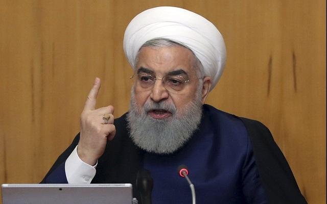 """Tổng thống Rouhani cảnh báo Mỹ: """"Đừng bao giờ đe dọa Iran"""" - 1"""