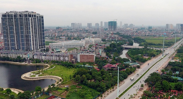 Nhà đất ở Gia Lâm, Hoài Đức và Hà Đông tăng giá, biệt thự bình quân hơn 4.200 USD/m2 - 1