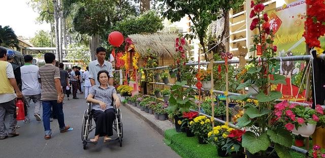 Mê mẩn với đường hoa ngập tràn sắc xuân giữa bệnh viện - 2