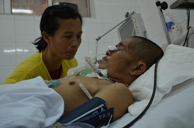 Người vợ nghèo khó nghẹn ngào cầu xin các nhà hảo tâm dang tay cứu chồng - 4