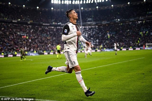 C.Ronaldo lập nhiều kỷ lục với cú hattrick đầu năm 2020 - 1