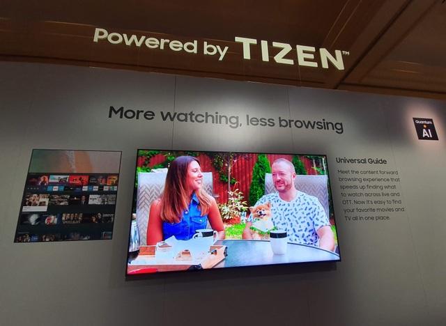 Cận cảnh TV 8K không viền màn hình của Samsung tại CES 2020 - 7