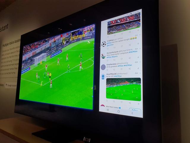 Cận cảnh TV 8K không viền màn hình của Samsung tại CES 2020 - 9