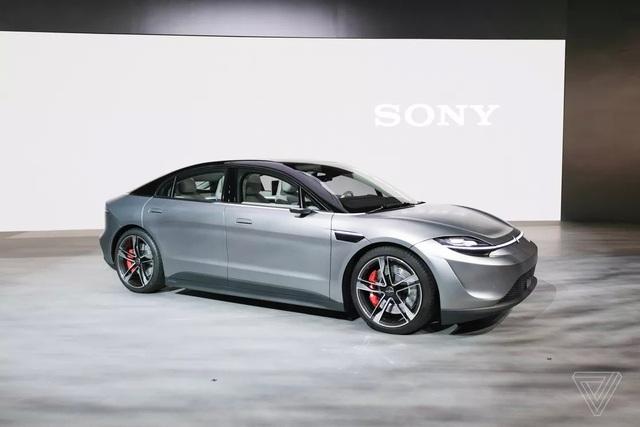 Sony bất ngờ trình làng xe chạy điện Vision-S - 4