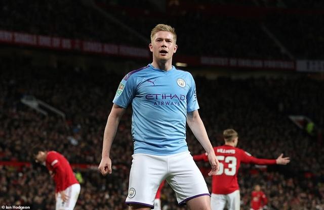 """Man Utd 1-3 Man City: Sai lầm liên tiếp của """"Quỷ đỏ"""" - 2"""