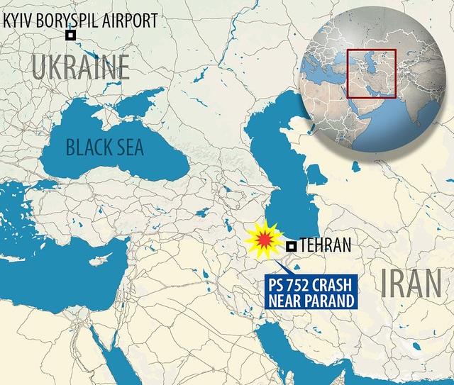 Hiện trường thảm kịch rơi máy bay khiến 176 người chết ở Iran - 14