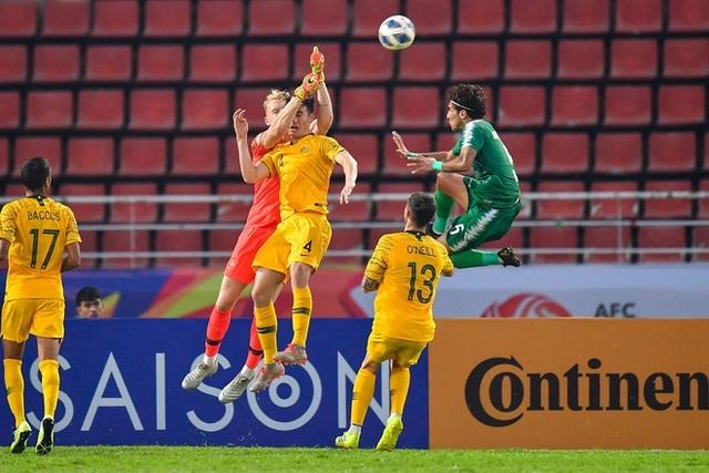 U23 Iraq 1-1 U23 Australia: Cuộc chiến đẳng cấp - 6
