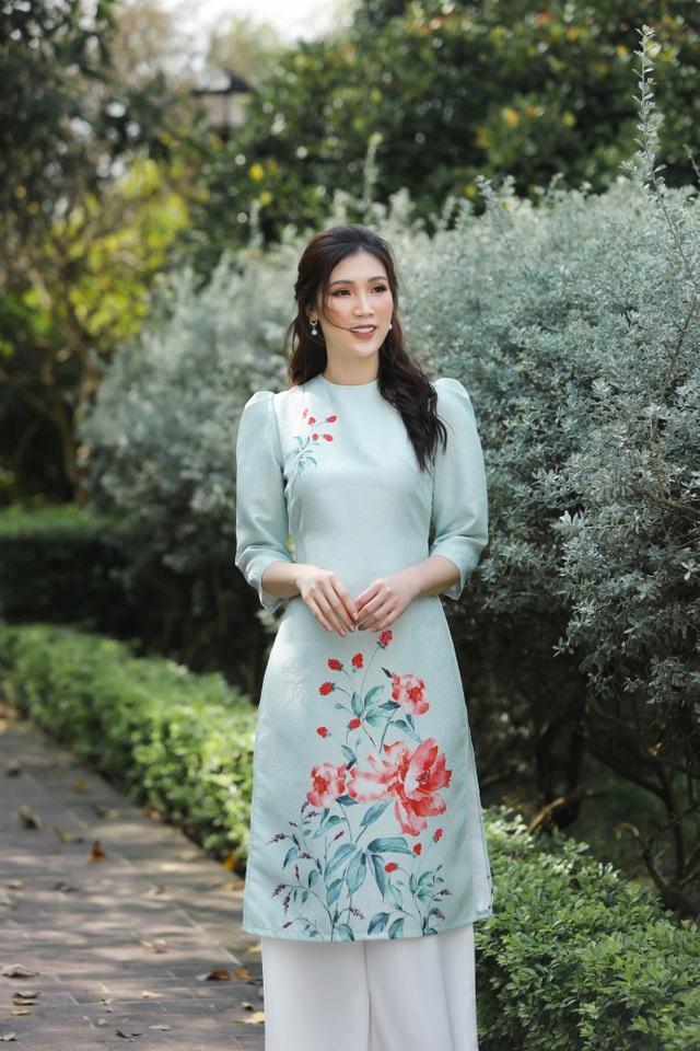 Hoa hậu Phí Thuỳ Linh lên dự định đón Tết, ước có thêm con gái - 10