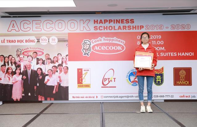 Học bổng Acecook Happiness Scholarship 2019 chắp cánh ước mơ cho sinh viên Việt - 1