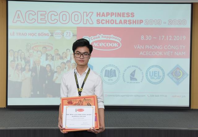 Học bổng Acecook Happiness Scholarship 2019 chắp cánh ước mơ cho sinh viên Việt - 2