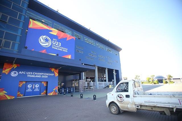 Sân Buriram tất bật chuẩn bị cho trận khai mạc giải U23 châu Á - 6