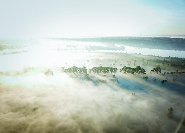 """""""Lung linh"""" ngôi chùa cổ nhìn từ trên cao - 9"""
