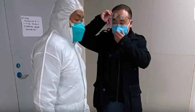 Ngừa bệnh viêm phổi lạ tại Trung Quốc, Hà Nội triển khai 5 máy đo thân nhiệt - 1