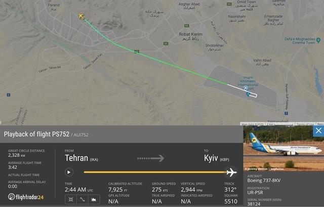 Rơi máy bay ở Iran, toàn bộ 176 người thiệt mạng - 3