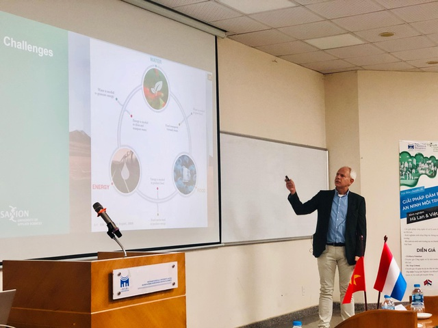 Giáo sư Việt Nam – Hà Lan bàn các giải pháp đảm bảo An ninh môi trường - 2