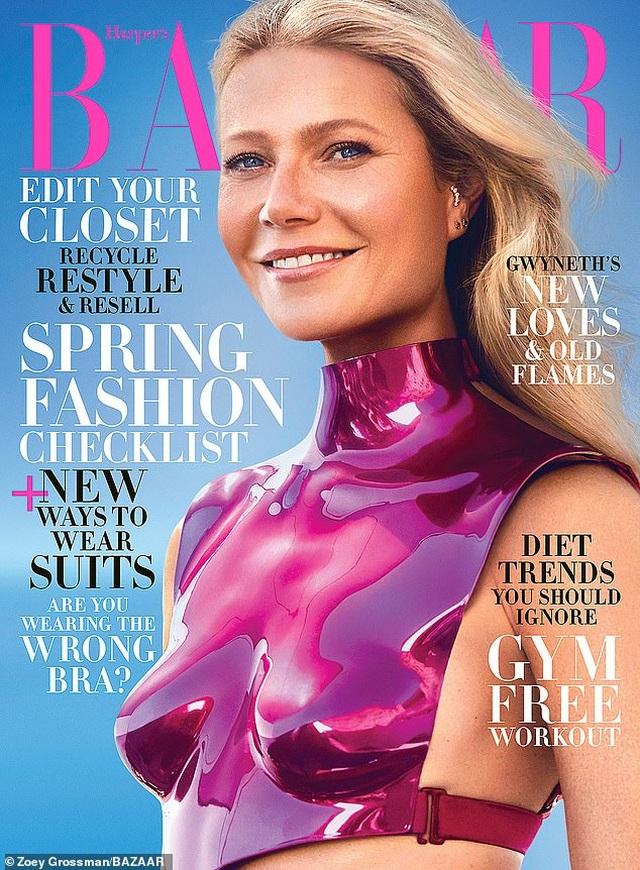 Gwyneth Paltrow khẳng định vẫn giữ quan hệ bạn bè với tình cũ Brad Pitt - 1