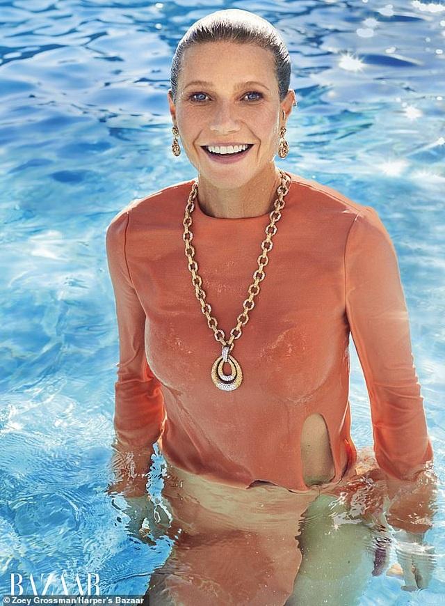 Gwyneth Paltrow khẳng định vẫn giữ quan hệ bạn bè với tình cũ Brad Pitt - 5