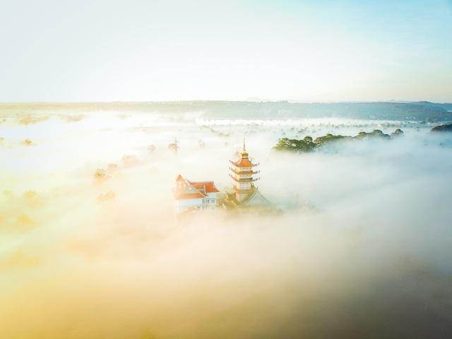 """""""Lung linh"""" ngôi chùa cổ nhìn từ trên cao - 2"""