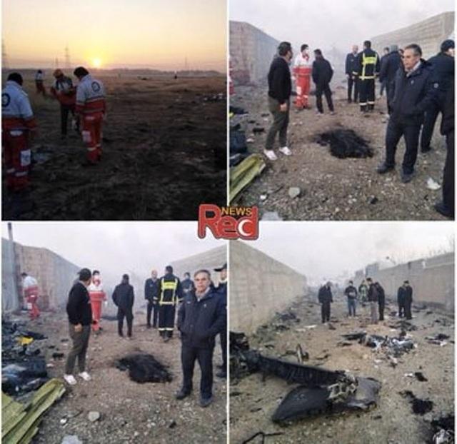 Rơi máy bay ở Iran, toàn bộ 176 người thiệt mạng - 1