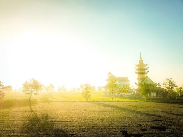 """""""Lung linh"""" ngôi chùa cổ nhìn từ trên cao - 5"""