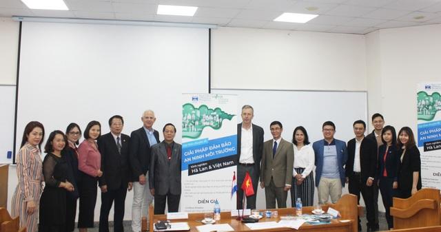 Giáo sư Việt Nam – Hà Lan bàn các giải pháp đảm bảo An ninh môi trường - 1