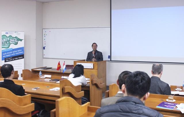 Giáo sư Việt Nam – Hà Lan bàn các giải pháp đảm bảo An ninh môi trường - 3