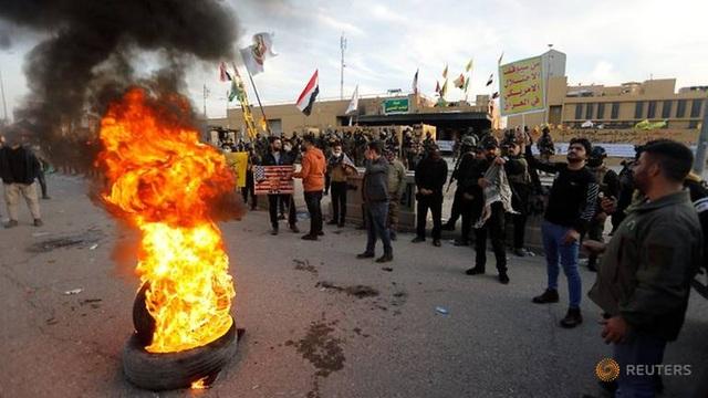 """Những đòn tấn công """"ăn miếng trả miếng"""" thổi bùng căng thẳng Mỹ - Iran - 1"""