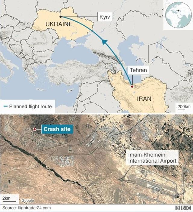 Rơi máy bay ở Iran, toàn bộ 176 người thiệt mạng - 4
