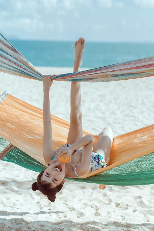 Trang Moon khoe hình thể nóng bỏng với bikini ở tuổi 27 - 6