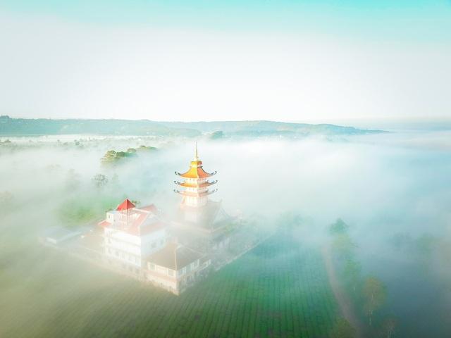 """""""Lung linh"""" ngôi chùa cổ nhìn từ trên cao - 7"""