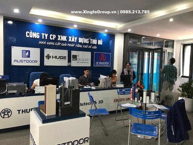 Nhôm Xingfa nhập khẩu chính hãng 100% tại Thủ Đô Group - 1
