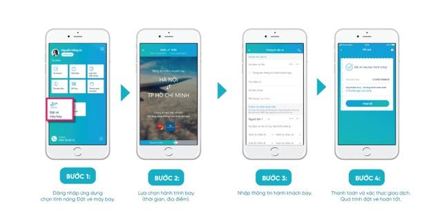 Đặt vé máy bay dễ dàng, thanh toán VNPAY-QR cực tiện trên Easy OceanBank Mobile - 2