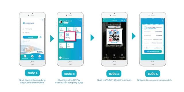 Đặt vé máy bay dễ dàng, thanh toán VNPAY-QR cực tiện trên Easy OceanBank Mobile - 3
