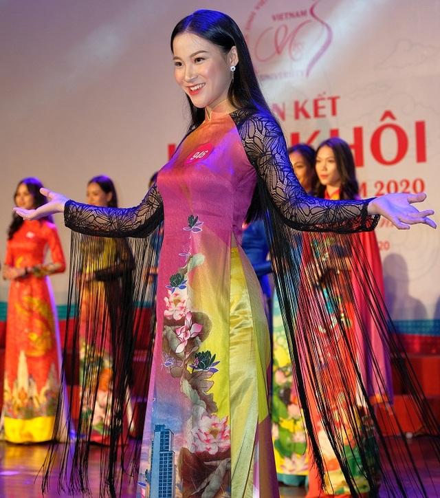 Nữ sinh miền Trung – Tây Nguyên đọ sắc, đọ tài tại Bán kết Hoa khôi Sinh viên VN - 10