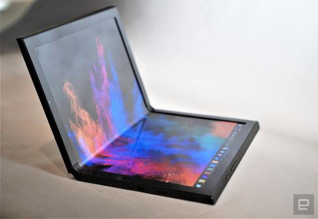 CES 2020: Dell, Lenovo, Intel đua nhau ra mắt laptop màn hình gập - 4