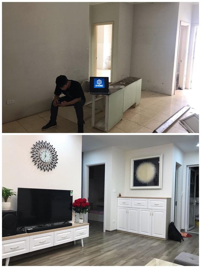 """Chủ nhà Hà Nội chi gần 300 triệu """"lột xác"""" đẹp khó tin cho căn chung cư cũ - 10"""