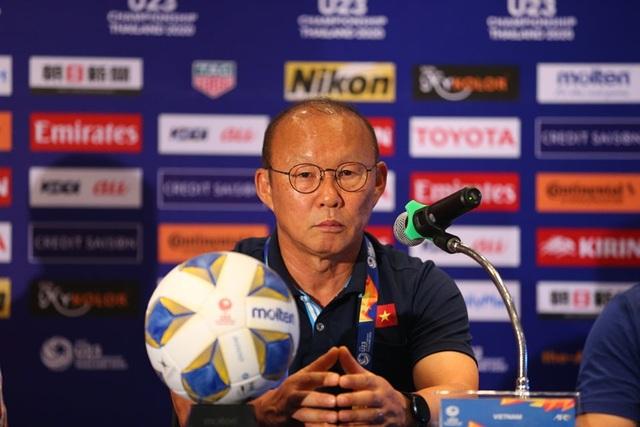 "HLV Park Hang Seo: ""U23 Việt Nam sẽ vượt qua vòng bảng"" - 1"