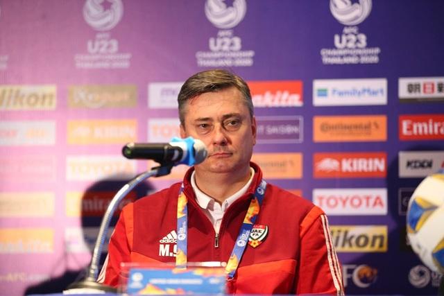 """HLV UAE: """"Tôi không muốn nhắc lại trận thua U23 Việt Nam"""" - 1"""