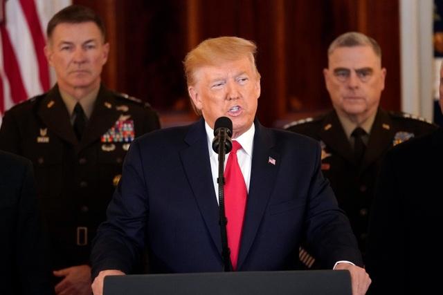 """Tổng thống Trump: """"Mỹ không có thương vong trong cuộc tấn công của Iran"""" - 2"""