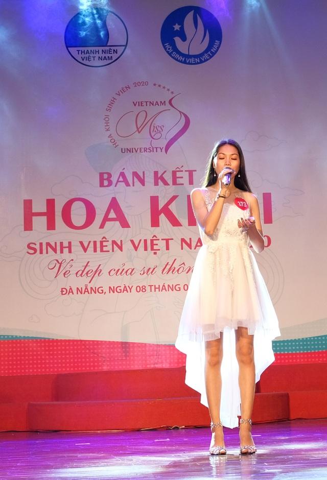 Nữ sinh miền Trung – Tây Nguyên đọ sắc, đọ tài tại Bán kết Hoa khôi Sinh viên VN - 6