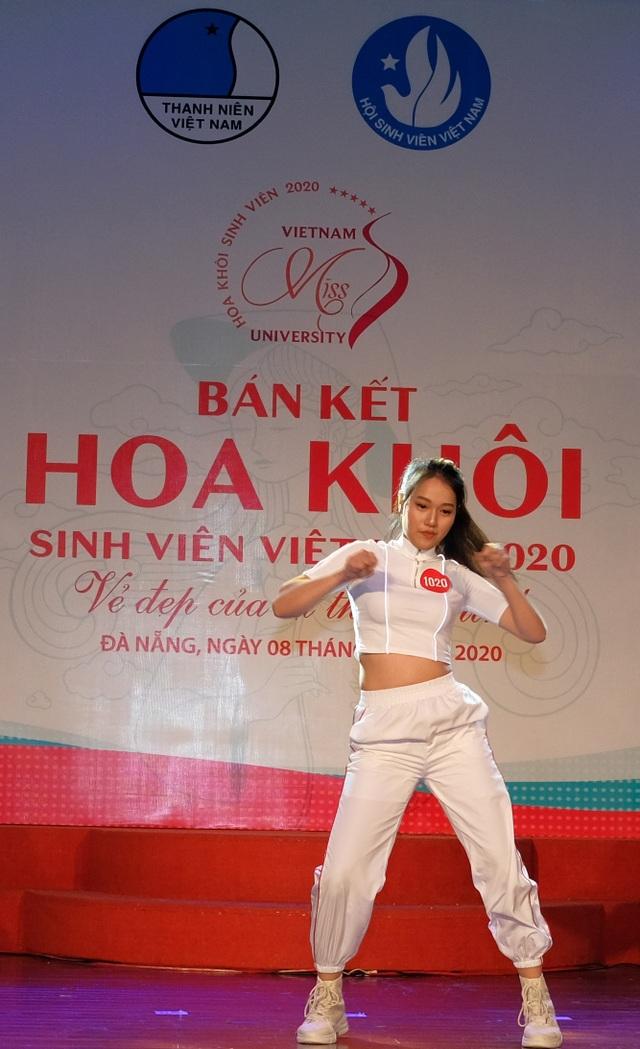 Nữ sinh miền Trung – Tây Nguyên đọ sắc, đọ tài tại Bán kết Hoa khôi Sinh viên VN - 7