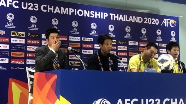 HLV Nishino tuyên bố không ngán các đối thủ của U23 Thái Lan tại bảng A - 1