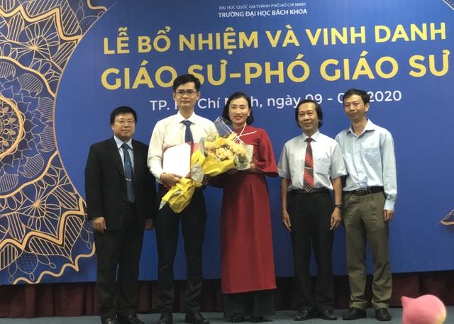 Trường ĐH Bách khoa TPHCM vinh danh 15 giáo sư, phó giáo sư năm 2019 - 2
