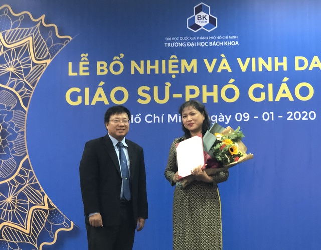 Trường ĐH Bách khoa TPHCM vinh danh 15 giáo sư, phó giáo sư năm 2019 - 3