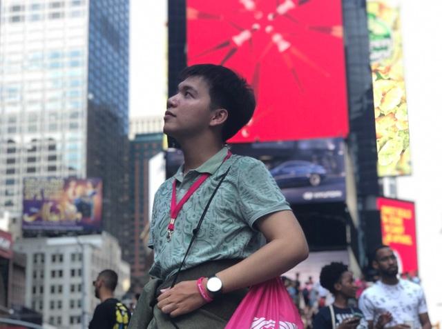 Cậu học trò từng trượt đội tuyển học sinh giỏi và hành trình đến New York - 2