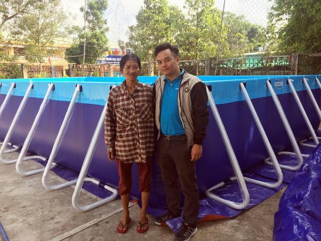 Trao tặng 5 bể bơi di động miễn phí của nhà sản xuất Hoàng Hải - 3