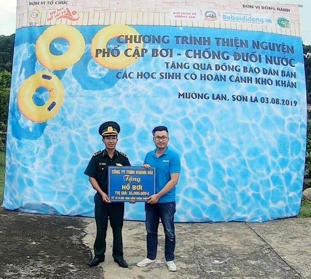 Trao tặng 5 bể bơi di động miễn phí của nhà sản xuất Hoàng Hải - 7